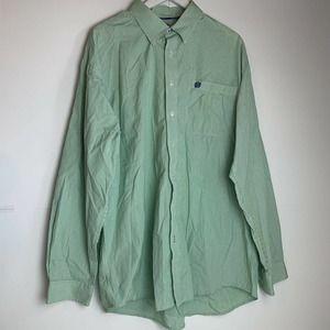 cinch mens button front striped Shirt